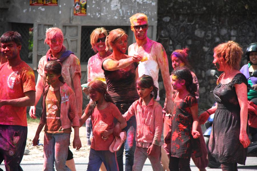 CELEBRATING HOLI! IT'S A SWAMP OF COLOR BURSTS THAT WILL FIND YOU ALL WET… SOGGY…and on a high!!!