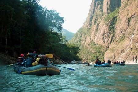 Rafting the Karnali Corridor…Aqua thrills of an exceptional kind…