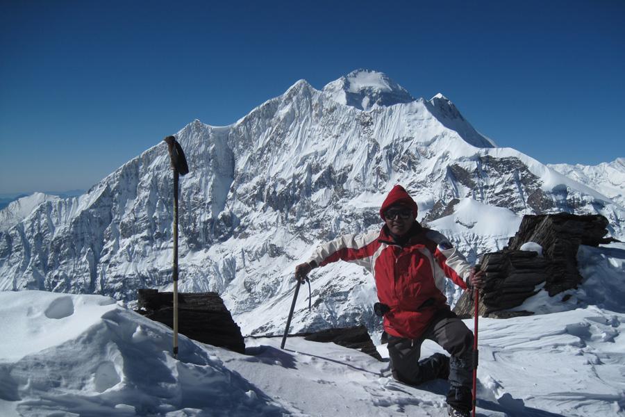 Dhampus Peak Climbing (6012m)