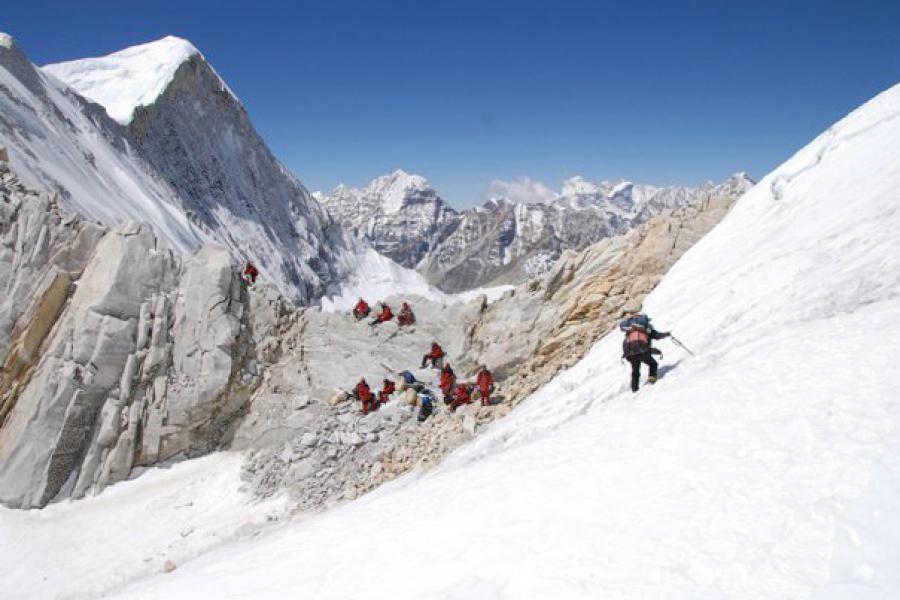Ice Col Trekking