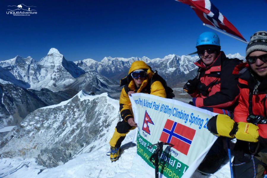 Island Peak Climbing (6160m)