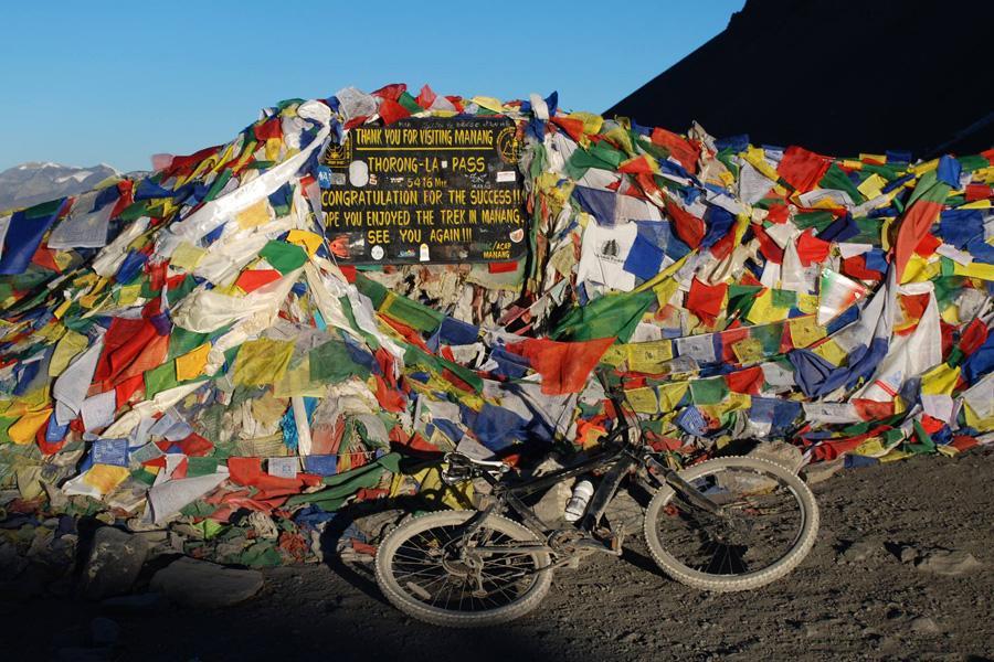Round Annapurna Mountain Biking