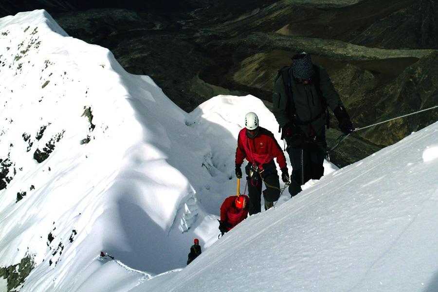 Ascending Island Peak