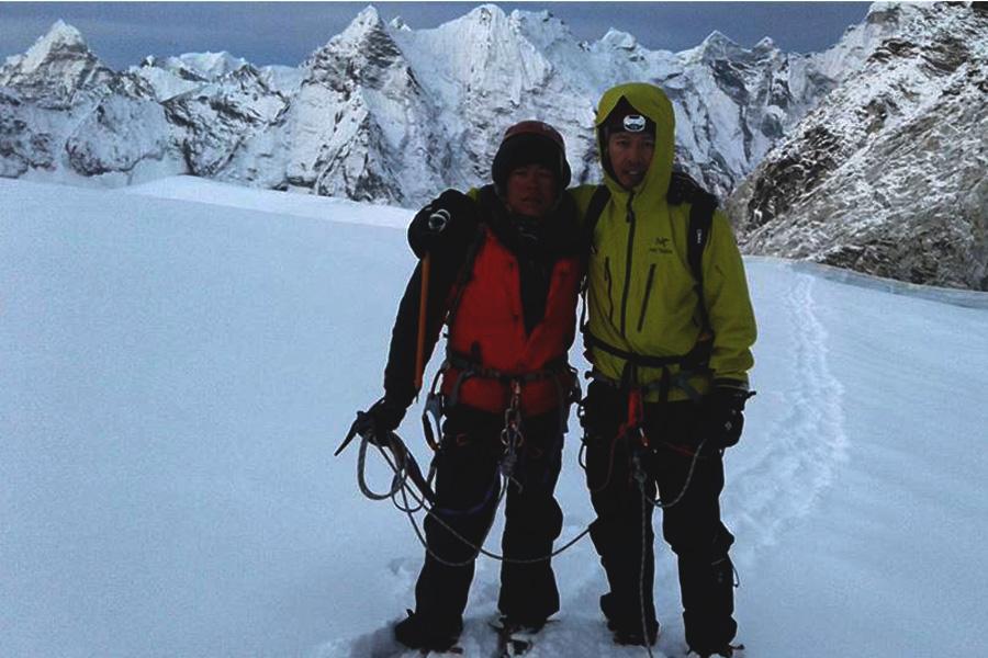 Summit of Island Peak