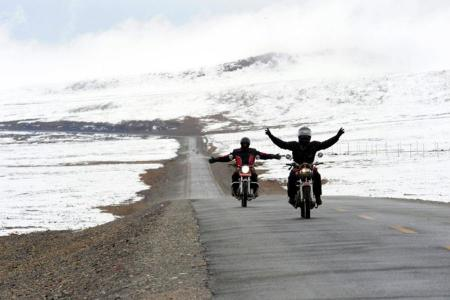 Central Tibet Motorcycle tour