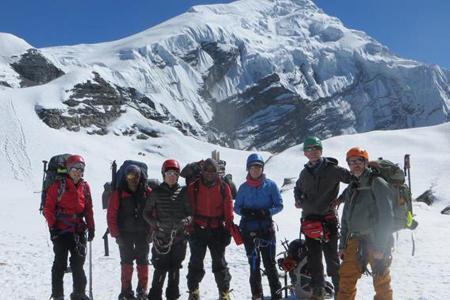 Chulu Biking and Climbing Peak (6059m)