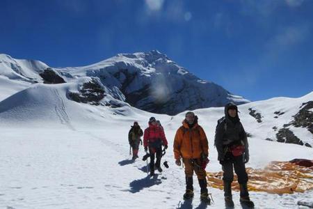 Chulu East Peak Climbing (6584m)