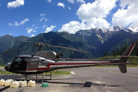 Heli tour to Mt. Kailash & Manasarovar
