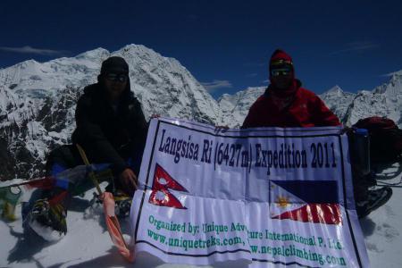Langsisa Ri Peak Climbing (6427m)
