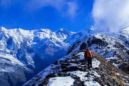 Mardi Himal Peak Climbing (5587m)