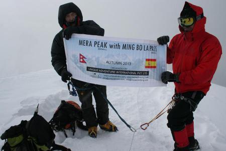 Mera Peak climb with the Mingbo La Pass
