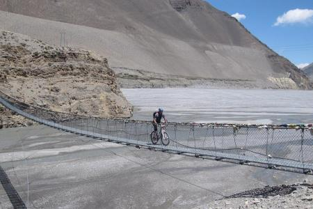 Muktinath to Pokhara Mountain Biking